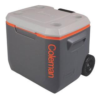 Caixa Térmica Cooler Coleman 50 Qt 47,3 L Xtreme Com Rodas