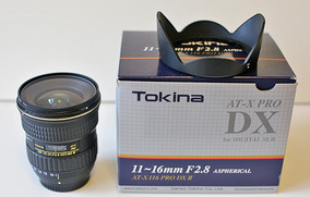 Lente Tokina 11-16mm Dx Ii F2.8 - Grátis Filtro Hoya!