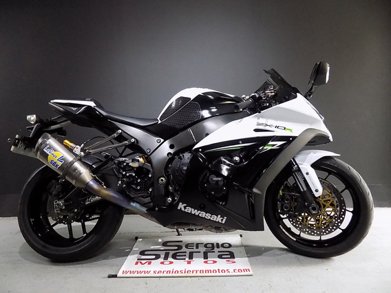 Kawasaki Zx10r Blanca 2014