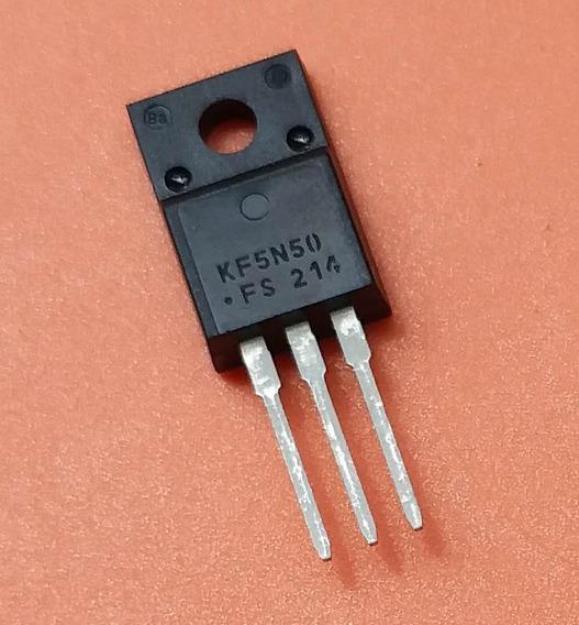 Transistor Kf5n50fs Kf5n50 5n50 To220f Isolado Novo Original