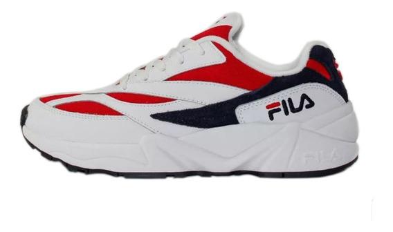 Tênis Fila Venom V94m Branco/vermelho/azul Original