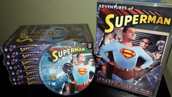 Box Dvd Superman George Reeves - Série Clássica Temps 2 A 6
