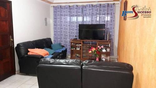 Sobrado Com 3 Dormitórios À Venda, 200 M² Por R$ 550.000,00 - Vila Nova York - São Paulo/sp - So1127