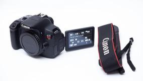 Canon T5i (corpo) Com 15k Cliques + 2 Baterias + Carregador