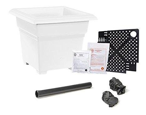Earthbox 8175201 Root Y Veg Garden Kit Organic White