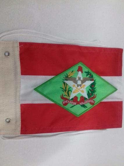 Acessórios De Motos - Bandeira De Santa Catarina