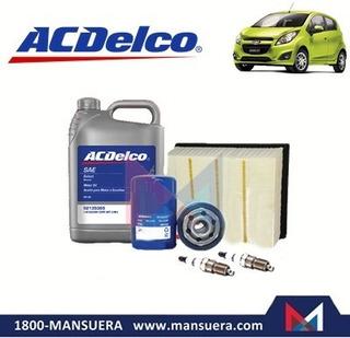 Kit Aceite Filtros Bujias Chevrolet Spark Gt
