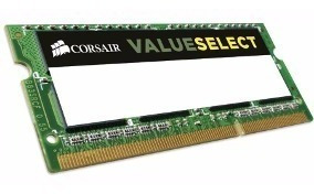 Memoria Corsair Sodimm Ddr3l 8gb 1600mhz Value