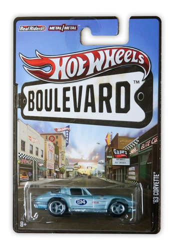 Hot Wheels Mattel Hw Boulevard '63 Corvette 2012 X8290