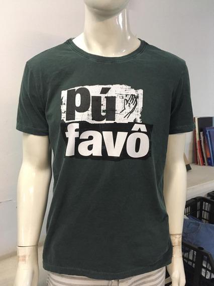 Camiseta Masculina Pu Favo