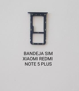 Bandeja Sim Original, Xiaomi Redmi Note 5 Plus