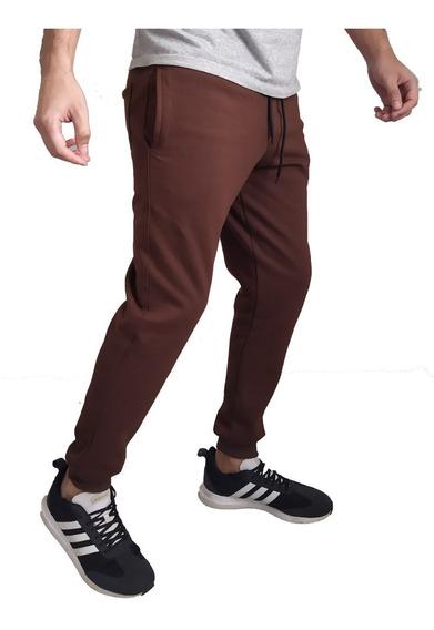 Pantalon Jogging Frizado Hombre Invierno