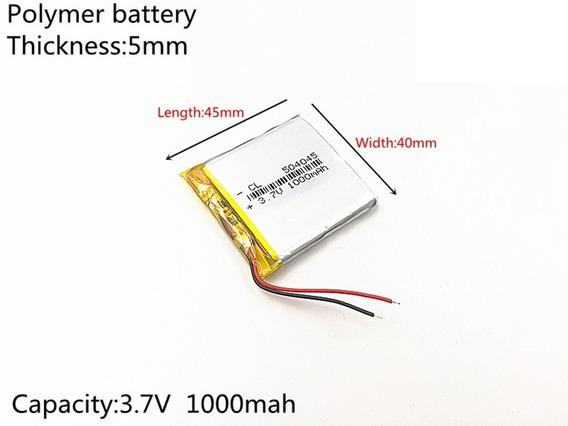 Bateria Gps Navcity Way 45 5mm X 40mm X 45mm 3.7v 2 Fios