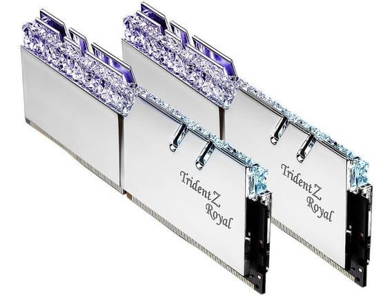 Kit Ddr4 16gb 3600mhz G.skill Trident Z Royal 2x8 Rgb