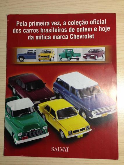 Catálogo Coleção Gm Chevrolet Rara