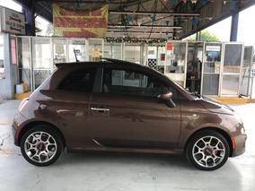 Fiat 500 1.4 3p Sport 6vel Qc Piel Mt 2013