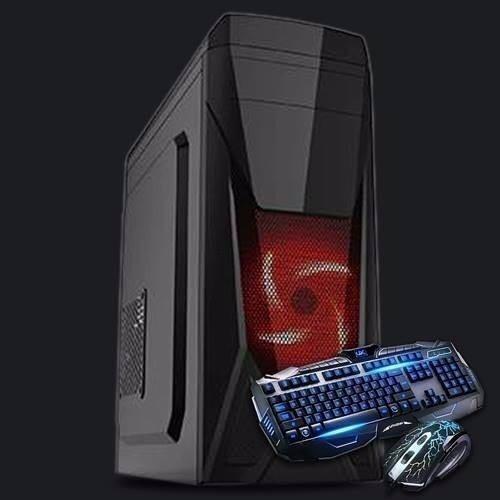 Cpu Gamer Intel + Kit Gamer Teclado Mouse