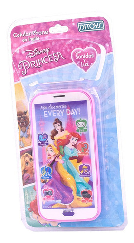 Princesas Celular 3d Original Ditoys Cuotas