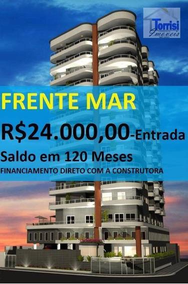 Apartamento Em Praia Grande, 01 Dormitório, Sala Com Sacada Gourmet, Vila Caiçara Ref. Ap2143 - Ap2143