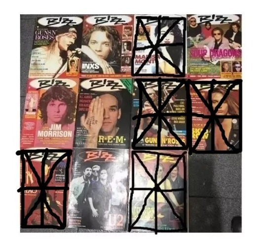 Revista Bizz 1991 6 Números