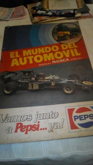 Pepsi Cola - Álbum Figurinha Formula 1 E Autos 1980 Completo