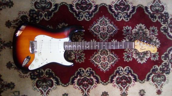 Vendo Hermosa Guitarra Squier Strat California Series Sunbur
