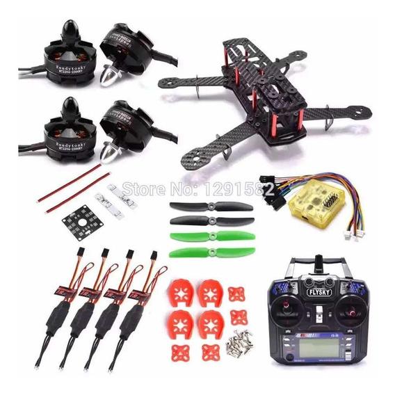 Drone Qav Zmr250 Com Radio Fsia6b