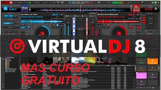 Virtual Dj 8 - Version 2020 + Mas Curso