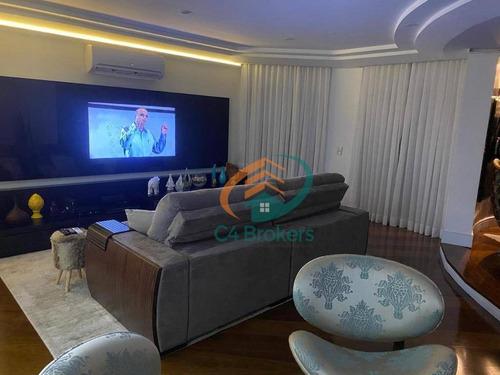 Imagem 1 de 27 de Apartamento Com 4 Dormitórios À Venda, 220 M² Por R$ 1.700.000,00 - Tatuapé - São Paulo/sp - Ap1835