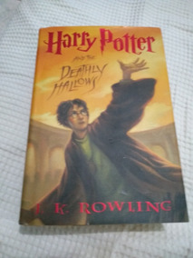Livro Harry Potter And The Deathly Hallows