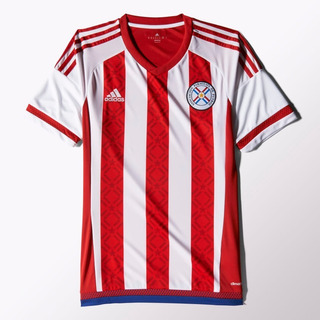 Camisa adidas Paraguai Home 2014 - Tamanho M