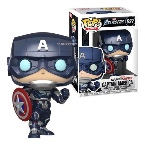 Funko Pop Capitan America 627 Avengers Original Scarlet Kids