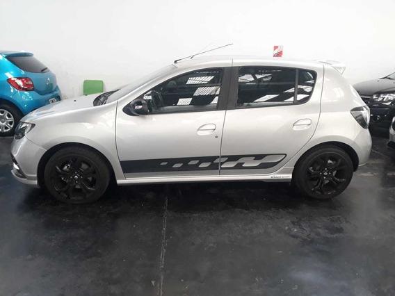 Renault Sandero Rs Gris 2018 Test Drive 800km Nuevo (lg)