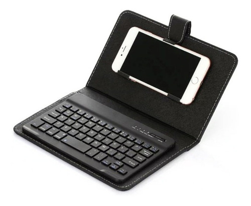 Imagen 1 de 6 de Funda De Teclado Bluetooth Para Teléfono Celular De 4,5 A 6