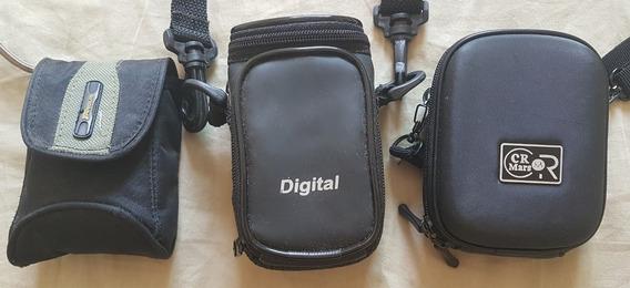 Kit 03 Câmeras Digital Sony Dsc-s650 Kodak C813 Nikon L4