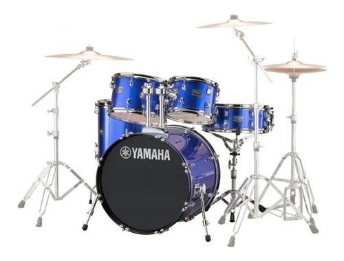 Batería Acústica Yamaha Rydeen Rdp0f5fbl Fine Blue Cuotas