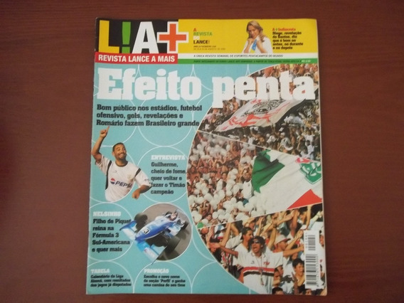 Revistas Lance! A+ - Várias Edições Antigas