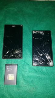 2 Aparelhos Nokia 520 Um Está Ligando (defeito)