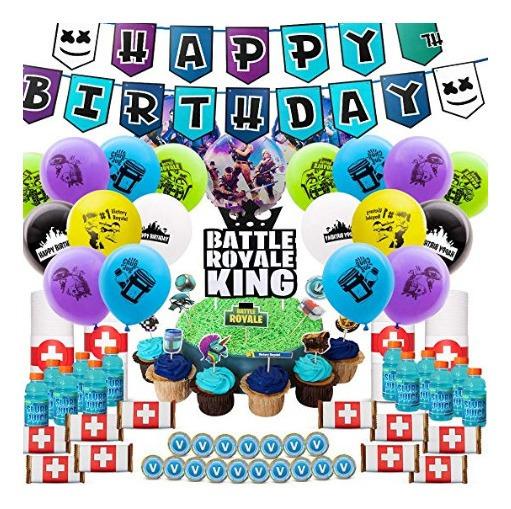Fortnite Cumpleaños Kit 121 Piezas