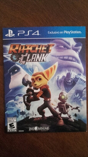 Juego Play 4 Ratchet Clank