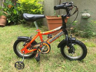 Bicicleta Niño Tomaselli Stark Kids - Rodado 12