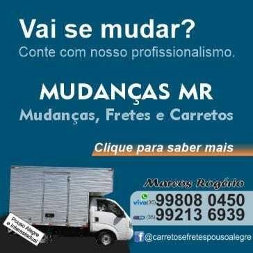 Imagem 1 de 2 de Mudanças,fretes E Carretos Em Pouso Alegre Mg 35 99808-0450