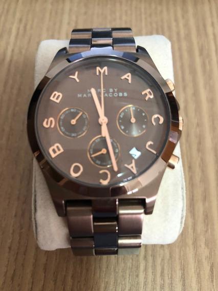 Relógio Feminino Marc Jacobs Cobre Marrom - Pouco Uso