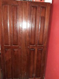 Placard Algarrobo 1 Metro Ancho 4 Puertas