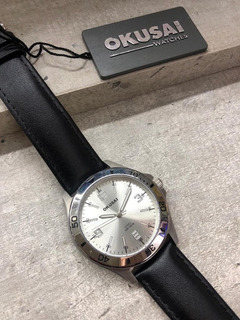 Reloj Okusai Hombre Cuero Sumergible
