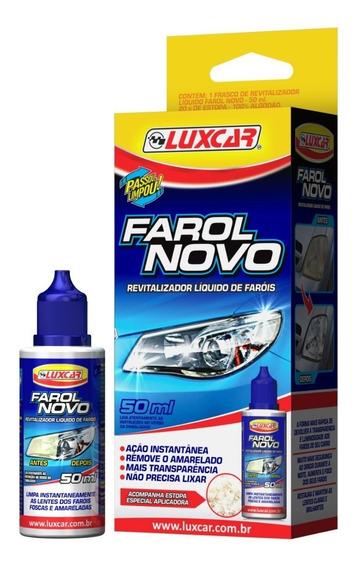 Revitalizador De Farol Luxcar 4800 Recuperador Amarelado