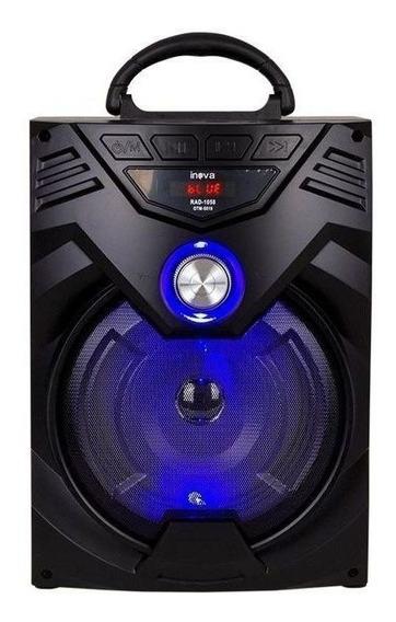 Caixa De Som Bluetooth Amplificadora Potente 15w Usb Sd Fm
