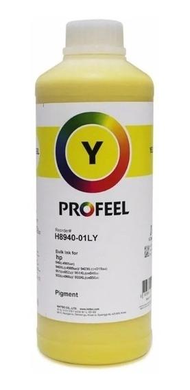 Tinta Pigmentada Inktec Profeel Yellow Hp 8100 8600 8610 1lt
