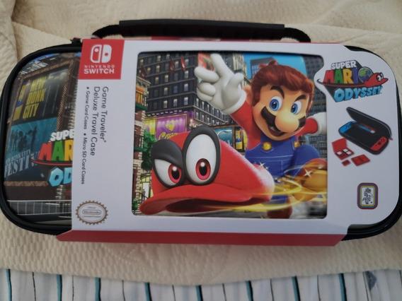 Case Nintendo Switch Game Traveler /promoção