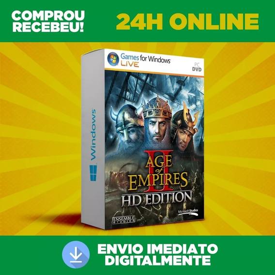 Age Of Empires 2 Hd - Pc - Todas As Expansões + Envio 0s